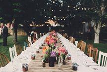 Tables & aisles