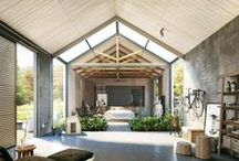 CLIENT Haiku Maui / Inspired by the Scandinavian barn vernacular, this cottage and barn for Cloth and Good's Melissa Newirth will provide a peaceful minimalist retreat for respite and family gatherings. / by The Guggenheims