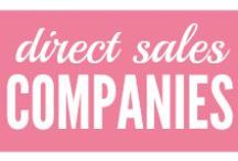Direct Sales Companies & Home Businesses / Always thought about joining a direct sales company? Or maybe you're just curious about the products. Maybe a loyal fan looking to buy?  / by Kelly @MoneyMakingMommy