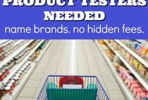 Product Testers Wanted / Product testers needed for all kinds of companies. Here is a big list of product testers needed right now!