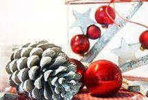 Weihnachtsfeiern / Zum Fest der Besinnlichkeit entwickelt Deko & Design individuelle Dekorationskonzepte und setzt diese professionell um - von der Tischdeko bis zur festlichen Gestaltung der Location sowie aller floristischen Leistungen