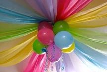 I like parties.  / Fun ideas for parties!