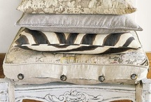 pillows and throws / by Leah Martin
