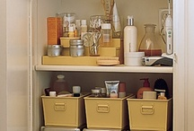 Organize Bathrooms / Ideas for Organizing Bathrooms for Families.