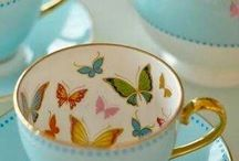 Tea Cups and Bees