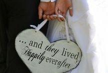 Just Married / Wedding ideas / by Jasmine Diaz
