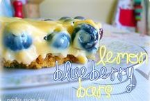 Blueberry Recipes / Delicious Blueberry recipes.