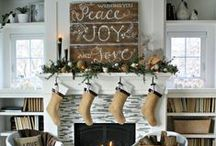 Christmas Mantels / Beautiful Christmas Mantels.