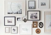 Home-Wall & Picture Ideas / Inspiration for decorating wall with pictures and other ideas.