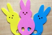 [Holiday] Easter DIY & Activities / Easter Crafts and Activities for Kids and Home. Crafts, activities, snacks and other ideas to keep kids busy at Easter Time. Bunnies, Baskets, Eggs, Easter Grass, educational ideas and more for babies, toddlers, preschoolers and big kids. #Easter #Holidays #PlayMatters #CreativeMamas #KBN