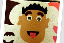 Felt Board Fun / Felt board, felt crafts and activities...basically anything awesome made from felt!