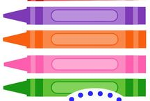[Learning] Colors Activities / All kinds of educational crafts, projects and learning activities to explore colors. Ideas for babies, toddlers, preschoolers, kindergarteners and big kids. Whether you are and educator or want to support your child's education at home, you will find tons of ideas, tricks and tips here!