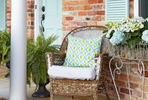 Home-Curb Appeal / Ways to add beautiful curb appeal to homes.