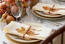 Fall & Thanksgiving / Beautiful Inspiration for Fall & Thanksgiving.