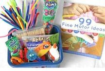 Fine Motor Fridays / Fine Motor Skills Activities Galore! Collaborative Series presenting fine motor activities and games for toddlers, babies, preschoolers and kids. Great for use at home, at school or in an OT practice.