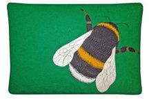 Designed by The Canny Squirrel / Harris Tweed cushions, accessories and cards made by The Canny Squirrel
