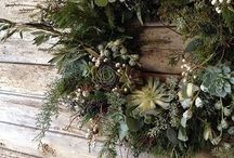 Christmas Wreaths / Beautiful Christmas wreath inspiration.