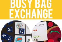 Busy Bags and Quiet Activities / Busy Bags, Quiet Activities and more! Great ideas for toddlers, preschoolers, kindergartners and big kids. Educational ideas, fine motor ideas, learning colors, shapes, letters, numbers and more!