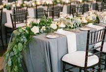 Grey and Silver Weddings / weddings in grey tones and colors / by Romantic Santa Barbara Weddings