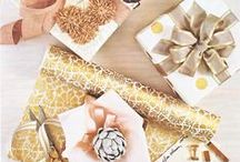 Gift Wrapping / Because the outside should be as pretty as what is inside