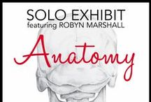 ROAM Gallery Solo Show featuring Robyn Marshall / Artist and Illustrator Robyn Marshall will be showing at ROAM Gallery from January 6 to the 19.  Meet the artist on Sunday, January 10th from 2:00 pm to 6:00 pm.