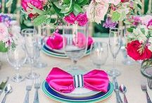 Fabulous Tablescapes & Party Themes / Tablescapes, table setting design, table decor, party decorations and party themes.