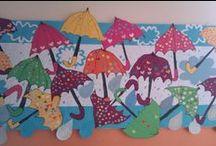Moje nástěnky / Výtvarné práce dětí-moje třída