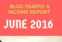 Blog Income Reports / I love reading blog income reports to see how other bloggers are doing. It motivates me to work hard at writing good content.