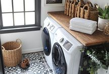 Laundry room/ linen cabinet