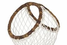 Home Accessories / Minimalist and modern home décor accessories. A lot of natural materials, chic containers, black and white, and tassels.  Includes I love clean lines with a side of boho.