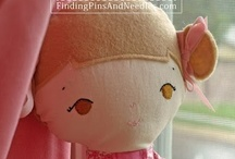 Softies & Dolls / Handmade, felt, knit, whatever softies or plushies for the kids.