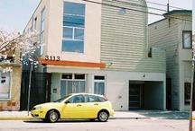 6 unit Loft Building, Berkeley, Ca. / 5 two story Loft units above a commercial space and parking.