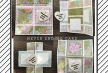 My Stampin' Up! creations / I LOVE LOVE LOVE Stampin' Up! That is why I became a demonstrator. Now I get all my goodies for free and have a ball sharing projects and teaching classes to other crafters.