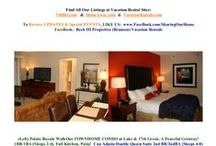 Branson's - Beck III Properties Vacation Rental ===== Places & Spaces / Need A GETAWAY!  Collage of Pics Showing Our Furnished Condos With Conveniences and Great Resort Amenities! / by Marilyn K Beck