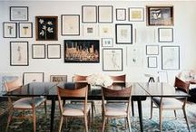 GALLERY WALLS / Ode to my obsession with gallery walls. / by Modern Eve
