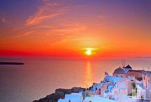 Santorini Greece / by Melissa Lien