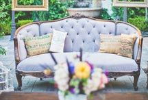 {WEDDINGS - Have a Seat} / Lounge Inspiration