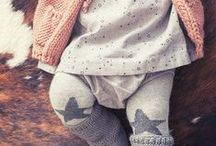 Baby Girl Style / Little girl fashion inspiration. A lot of flutter sleeves, neutrals, print mixing, and European (French) influence. Think Zara Mini, J.Crew Baby, Peek Kids and Bonpoint.