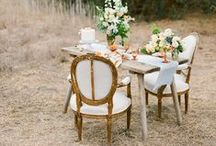 {WEDDINGS - Tablescape} / Tabletop Inspiration