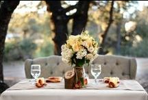 {WEDDINGS - Sweetheart Table} / Table for Two
