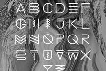 h a n d l e t t e r / downloadable fonts and pretty lettering  / by Bailey Ellington