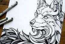 Art   Drawing / by Fernanda Soares