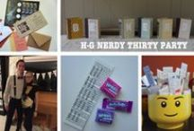 H-G Nerdy Thirty / Ideas, Inspirations, and Quotes to make our H-G Nerdy Thirty party a HUGE success!  What a blast!