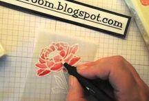 How to videos Stampin' Up! / Free weekly videos from Elizabeth's Craft Room - UK Stampin' Up! demonstrator. Ideas, techniques, inspiration and all round pretty projects! Cards, gift packaging an more.