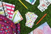 Back To School / It's that time of the year! Go back to school with these fun and stylish ideas.