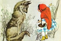 Fairy Tales and Nursery Rhymes / Illustrations and other art representing fairy tales, nursery rhymes, and children's stories. / by Julia Dalton