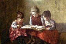 Beautiful Readers (in Art) / by Julia Dalton