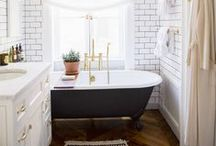 Bathrooms / I have a thing for bathrooms. / by Lola | Frolic & Jest