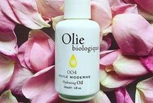 Olie Biologique Skincare Products / Welcome to Olie Biologique! Here are the latest products in our organic face oil and luxury skincare range.