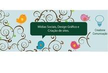 News de Mídias Sociais e Design Gráfico / Mídias Sociais - Blogs, Facebook, Twitter, outras Design Gráfico - Logomarca, Folders, Cartão de Visita, outros.